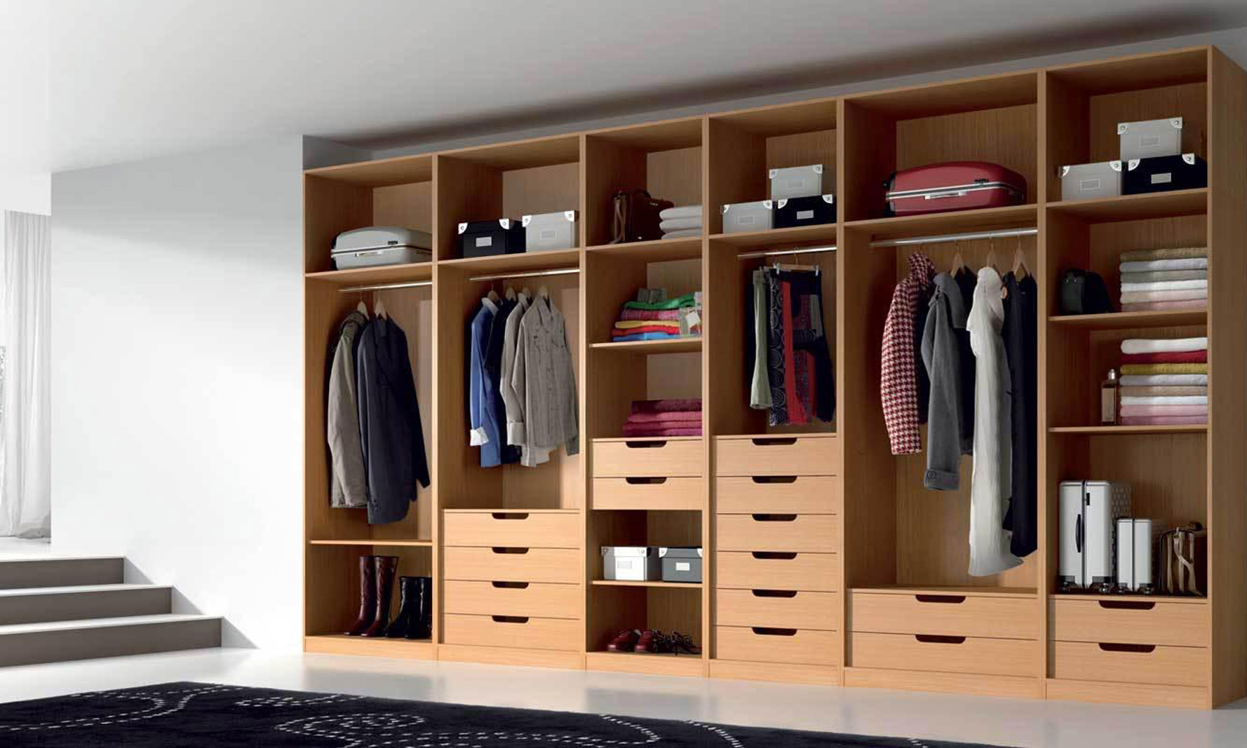 Closets mas dise os y laminados for Closets y muebles